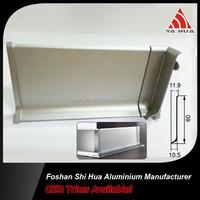 Aluminum skirting board cover,Aluminum waterproof baseboard,Cheap aluminium kitchen plinth