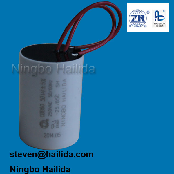 110 to 500 VAC Polypropylene Film Capacitor (Ac Motor Capacitors ...