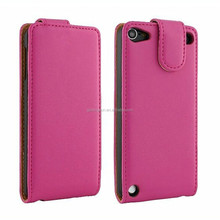 2015 new design oem smart leather case for ipod touch 5