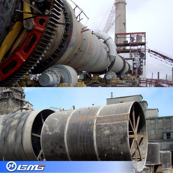 Rotary Cement Kiln : Dry process cement rotary kiln view gmg