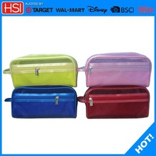 purse size pu material wash bag for women