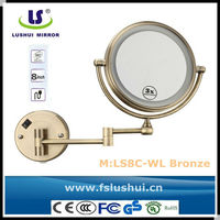 hot selling double sides vanity hanging decoration mirror