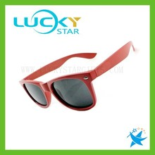 Promotional wayfarer sun glasses with logo printing sexy red cheap polarized sunglasses hot new products for 2015