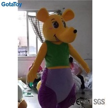 adult size costume mascot walking promotional mascot costume kangaroo mascot costume