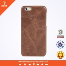 Cheap 4.7 inches and 5.5 inches leather custom mobile phone case for I phone 6