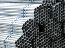 (TTG) HF ERW Steel Pipe HFW CR HR Round Tube Hot Dipped Galvanized Welded MS Steel Tube ASTM A500 A53 Q195 Q215 Q235 Q345 IV