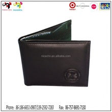 Hot new products for 2015 wholesale polyester mens wallets virtual card wallet