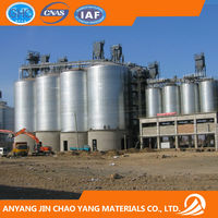 2014 New Good Condition Assembly Paddy Silo Prefabricated Steel Silo for Rice Storage