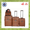 PU Luggage Set with Makeup Bag Travel Bag Set Upright Luggage Suitcase Drawbar Case Box