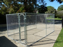 Galvanized portable chain link dog kennel lowes