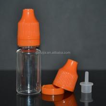 small bottle plastic dropper bottle ,empty bottle child/tamperproof cap