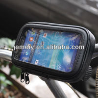 Waterproof Bicycle Bike Mount Holder leather Case for SAMSUNG GALAXY S4 i9500