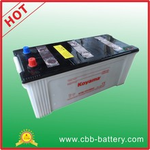professionally manufacturing Dry Charged storage Car Battery 150Ah 12v