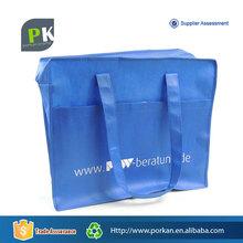 PP Non-woven Tote Bag with Zipper