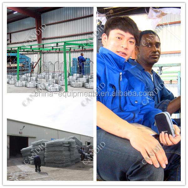 Heavy Type Hexagonal Wire Netting Machine Install2