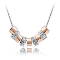 wholesale Jewelry Brand new arrived bead necklace made with swarovski