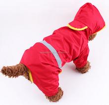 low price pet dog waterproof raincoat dog rain clothes for large dog