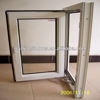 Factory wholesale clear glass plastic window