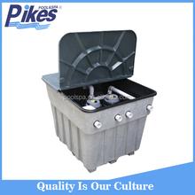 High performance integrated swimming pool inground tank sand filter