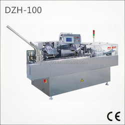 Full High Efficiency DZH-100 Automatic Horizontal Carton Packing Machine