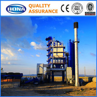 100t/h fix bitume batching mixing plant for sale
