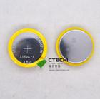 3.6v li-ion bateria recarregável lir2477 bluetooth bateria