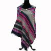 latest new design knittd shawl for ladies