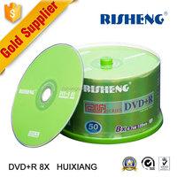 RISENG blank 4.7GB car dvd/ydd dvd spindle/ydd blank dvd wholesale