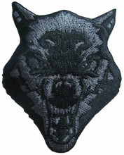 Lone Wolf No Club Pack Biker Motorcycle club embroidery patch