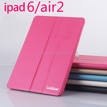 Factory Wholesale PU Leather Tablet Covers for iPad air 2 Case