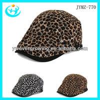2013 new arrival hotsale peak cap and hat sport cap fashion leopard cap