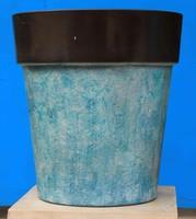 wholesale Ceramics colorful cheap plastic flower pots