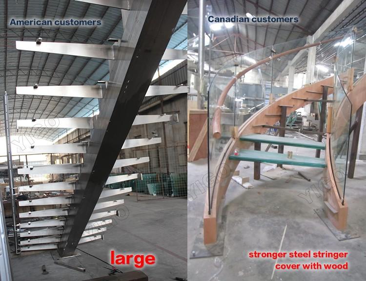 Bauen gerade treppe modern holz treppe Innen, Außen yg9001-20f ...