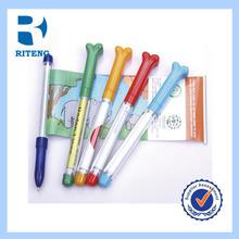 customized cheap high quality retractable bannner ball pen