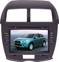 8 inch car HD touch screen dvd player for Mitsubishi ASX with gps navigation,bluetooth,TV function