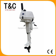 factory direct sale 2 stroke 3.5 hp boat engine petrol inflatable fishing outboard boat motor