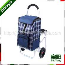 travel luggage cart fabric cotton