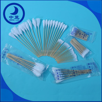 """4"""" bamboo cotton buds / 4"""" cotton q tips / 4"""" cotton tipped applicators"""