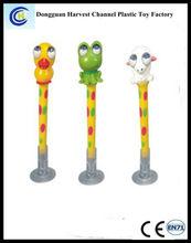 Cute cartoon animal topper multifunction promotional ballpen