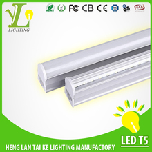 Factory direct free sample t5 led lighting, t5 light fictures,led t5 tube