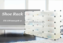 plastic modern cheap 15 white cubes bar cabinets for home (FH-AW201518-15)