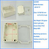 115*90*55 transparent box clear plastic waterproof case ip65 Shenzhen