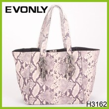 H3162 European design Snake skin texture bag Fashion handbags Hotsale Fashion Leather Bag