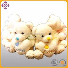 10cm Soft Valentine Teddy Bear with Heart