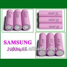 samsung 18650 li-ion battery 3.7v 2600mah rechargeable