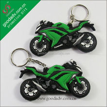 design wholesale promotion gifts 3d motorcycle keychains