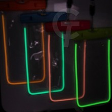 2015 Stylish night light underwater phone waterproof case for asus zenfone 6 with stripe