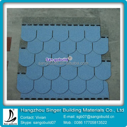 China Fish-scale Asphalt Shingles Manufacturer For Bitumen Roofing Shingles