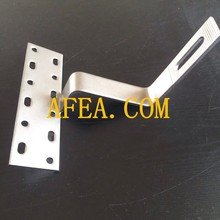 good quality manufacture stainless solar roof hook