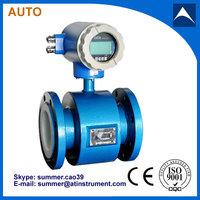 Blue Carbon Steel Electromagnetic Flowmeter of manufacturer